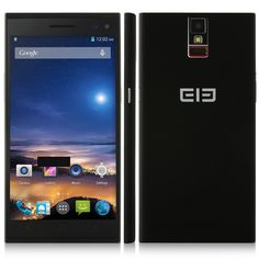 Elephone P2000 5.5 Inch HD NFC OTG MTK6592 Octa Core Android 4.4 2GB-16G Smartphone with Finger Scanner-Black--$245.95