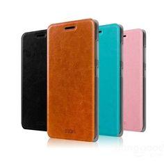 MOFI Rui Series Flip Pu Leather Case Cover For ZTE V5 MAX