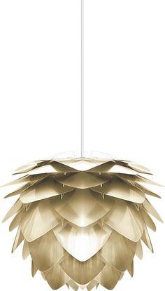 Hanglamp Silvia - Geborsteld messing - Groot - Vita