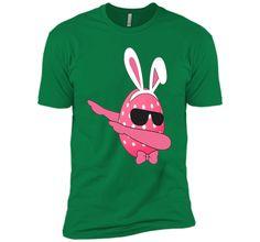 Dabbing Emoji Easter T-Shirt Girls Teen Boys Kids Adults Dab