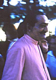 Meher Baba at Meher Spiritual Center. 1956