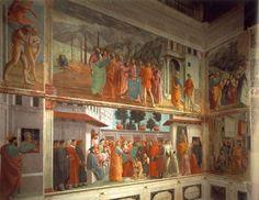 Masaccio - Frescos de la capilla Brancacci (Quattrocento)