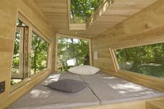 Bunkie Inspiration: Tree House by Andreas Wenning Luxury Tree Houses, Cool Tree Houses, Tiny Houses, Corporate Design, Villas, Modern Tree House, Tree House Plans, House On Stilts, Tree House Designs