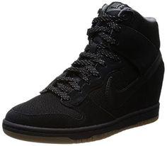 Nike Dunk Sky Hi Essential, Baskets mode femme - Noir