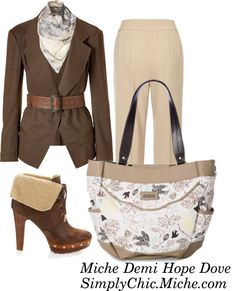 """Miche Demi Hope Dove"" by miche-kat on Polyvore  http://www.simplychicforyou.com/"