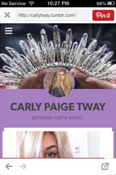 Carly Tway on Tumblr #CarlyTway