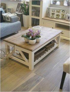 Piękny biały stolik NO.01 Retro #Scandinavia - Nowości
