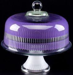 Purple Love, All Things Purple, Shades Of Purple, Deep Purple, Purple Stuff, Teal, Turquoise Glass, Purple Glass, Kitchenaid