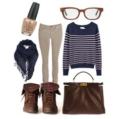 Ravenclaw Casual - Polyvore
