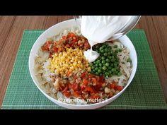 MİSAFİRLERİM BU LEZZETE BAYILDI💯ERİŞTENİN EN GÜZEL HÂLİ BU OLSA GEREK😍 - YouTube Fried Rice, Fries, Ethnic Recipes, Youtube, Food, Olinda, Bulgur, Noodles, Eten