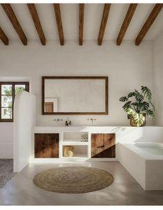 Dream Home Design, House Design, Bathroom Interior Design, Interior Decorating, Beautiful Bathrooms, Modern Bathrooms, Interior Design Inspiration, Architecture Design, Scandinavian Architecture
