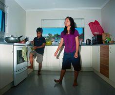 Edith Amituanai, Chili, from the series La Fine Del Mondo,C-type photograph Richard Ford, Auckland, Documentaries, Sporty, Model, Photography, Chili, Type, Google Search