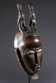 Yohoure mask - MASQUES AFRICAINE