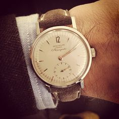 Patek Philippe reference 3417.  (at Christie's)