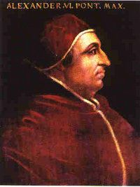 What did Pope Alexander have to say about one of Leonardo's greatest inventions?