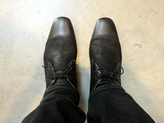 Base London Leather Chukka