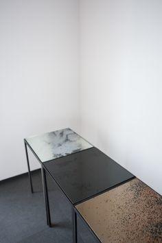 Notre Monde - patchwork tables