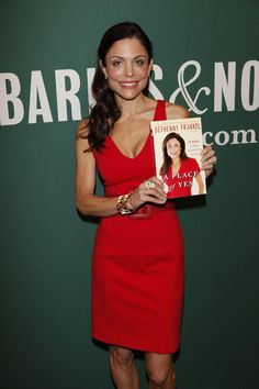 """""""A Place of Yes"""" by Bethenny Frankel.  I love reading autobiographies, period.  Bethenny was not always my favorite """"Housewife"""" from the Bravo series, but I fell in girl crush frankly after watching her own shows shortly thereafter.  summation:  she's frikking HILARIOUS and i am dying to read this book."""
