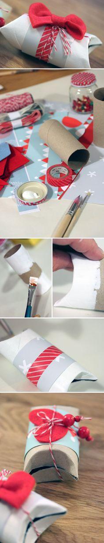 Rullapaketit. lasten | askartelu | joulu | käsityöt | koti | paketointi | DIY ideas | kid crafts | christmas | home | wrapping | Pikku Kakkonen