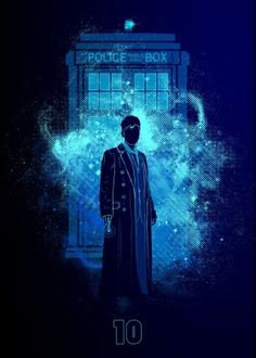 doctorwho doctor tardis policebox police box public call david tennant ten tendoctor who serietv sf scifi science fiction tv backtothefuture future voyage travelintime time travel in phone geek nerd popculture art donnie colors illustration Doctor Who 10, Doctor Who Fan Art, Doctor Who Tardis, 10th Doctor, Doctor Who Poster, Tardis Wallpaper, Doctor Who Wallpaper, Disney Wallpaper, Mobile Wallpaper