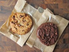 Arby's Salted Caramel & Chocolate Chip Cookie and Triple Chocolate Cookie
