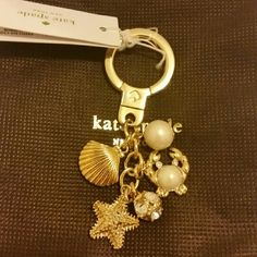 Kate spade gold key fab Kate spade gold key fab kate spade Accessories Key & Card Holders