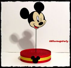 Mickey Mouse Inspired - Cakepops / Lollipops Stand - Display Stand - Candy Buffet - Mickey Mouse Party Decoration - Mickey Mouse Theme