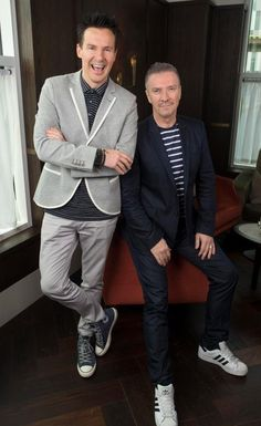 'FLYING THE FLAG' Telly home makeover duo Colin McAllister and Justin Ryan talk red carpet fame in Canada
