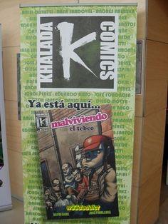 Stand Khalada Comics EXPOGROW 2012... #w33daddict #HeroSeeds #KhaladaCómics