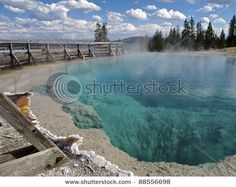 West Thumb Geyser Basin in Yellowstone National Park - A Must See! :)