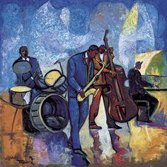 William Tolliver - New Jazz Giclee