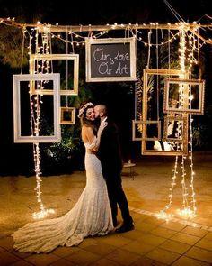 Top 20 Must See Night Wedding Photos With Light – Wedding – Top 20 Must See Nig… Night Wedding Photos, Wedding Night, Fall Wedding, Wedding Ceremony, Rustic Wedding, Dream Wedding, Light Wedding, Night Photos, Trendy Wedding