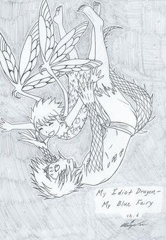 GaLe  My Idiot Dragon - My Blue Fairy Chap6 Cover by Inubaki.deviantart.com on @DeviantArt