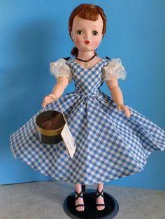 Truly Gorgeous - CISSY DOLL - in RARE Original Dress - with Red Hair