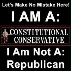 We were given a clear choice and it seems that more people do not want a constitutional conservative as their president. They would rather have a New York Yankee that does not know if he is a Dem or a Rep, Of course, these days what difference does it make????