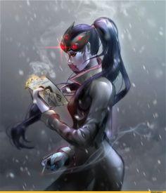 Blizzard,Blizzard Entertainment,фэндомы,Widowmaker,Overwatch,Overwatch art