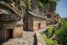 Cavers Monastery Imereti by Levan Nioradze