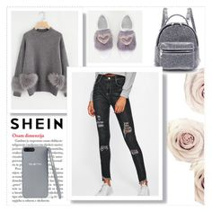 """Shein 3/3"" by hedija011 ❤ liked on Polyvore"