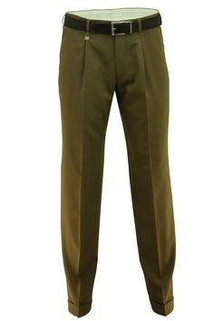 Pantalon M.E.N.S. camel wol stretch Paris