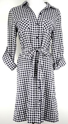 Old Navy Plaid Dress Size S