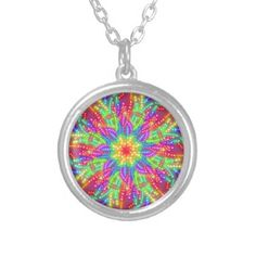hypnosis silver plated necklace - jewelry jewellery unique special diy gift present