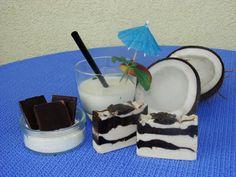 Schokolade-Kokus Seife