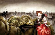 Cover art for boy with the cuckoo clock heart by benjamin lacombe