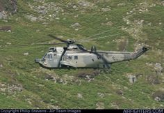 German Navy Westland Sea King Mk41, 89+57 (cn WA761/83). Off-Airport - Machynlleth Loop Area - UK. July 31, 2007.