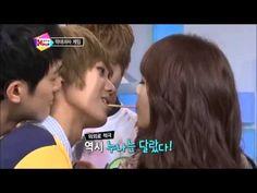 Pepero Game Kpop Kiss Kpop Kiss, Korean Variety Shows, Teaser, Behind The Scenes, Videos, Music, Fun, Game, Venison