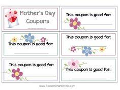 gift vouchers for mom
