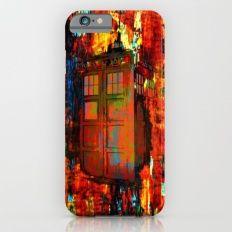 Tardis Rainbow iPhone 6s Slim Case