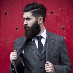 60 Professional Beard Styles For Men - Business Focused Facial Hair Gentleman Haircut, Der Gentleman, Dapper Haircut, Professional Beard Styles, Gentleman's Cut, Barba Grande, Mens Fashion Quotes, Classic Hairstyles, Beard Styles For Men