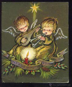 FELICITACION NAVIDAD *FERRANDIZ*- 1969 (14 X 11,5 CM) (Postales - Navidad)