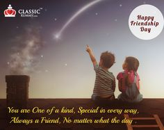 Friendship is one of the sweetest and wonderful bonds between two or more people. And the celebration of this special relationship makes it stronger and longer.  Happy Friendship Day. - Team Classic Rummy.  www.Classicrummy.com